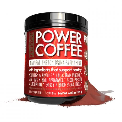 power coffee front view